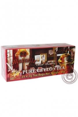 Чай MARCELLE 25 пак чёрный