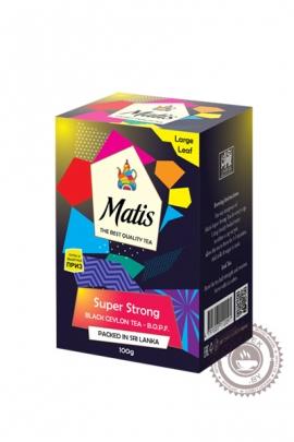 """Чай MATIS """"Super Strong B.O.P.F."""" черный 100 гр"""