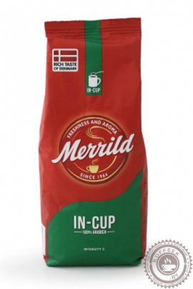 "Кофе MERRILD ""In CUP"" молотый 400г"