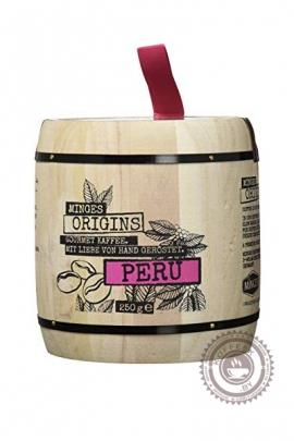 "Кофе MINGES ""ORIGINS PERU"" в зернах 250г | БОЧОНОК"