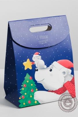 """Подарок новогодний """"На белом полюсе"""" 550 гр"""