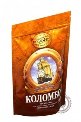"""Кофе """"Московская кофейня на паяхъ"""" Коломбо растворимый 190 г"""