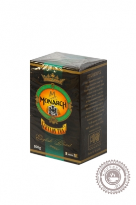 "Чай Monarch ""English Blend"" 100 г черный"