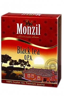 """Чай MONZIL """"OPA"""", черный крупнолистовой 250 г"""