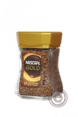 """Кофе NESCAFE """"Gold"""" 47,5г растворимый"""