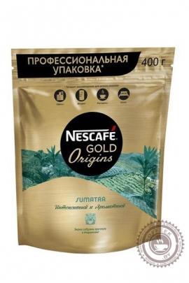 Кофе «Nescafe» Gold SUMATRA 400г растворимый сублимированный