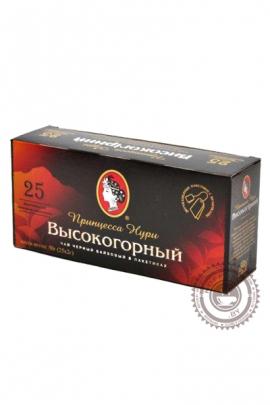 Чай ПРИНЦЕССА НУРИ Высокогорный 25 пак черный