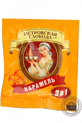 """Кофе Петровская Слобода """"Карамель"""" растворимый 20г"""