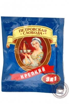 """Кофе Петровская Слобода """"Крепкий"""" растворимый 25 пакетов по 20г"""