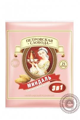 """Кофе Петровская Слобода """"Миндаль"""" растворимый 25 пакетов по 20г"""