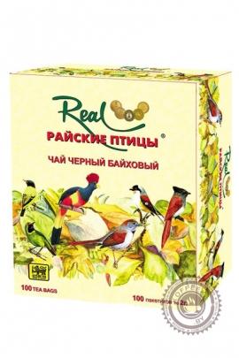 """Чай Real """"Райские птицы"""" черный в пакетиках, 100 шт"""