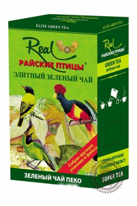 """Чай Real """"Райские птицы"""" зеленый, 200г"""