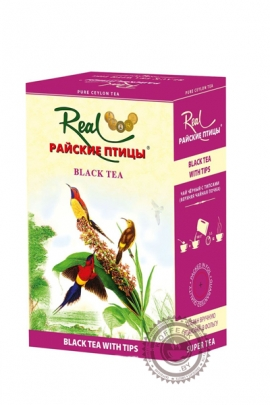 """Чай Real """"Райские птицы"""" черный с типсами, 100г"""