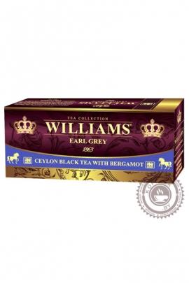 """Чай Williams """"Rich Bergamot"""" черный 25 пак с бергамотом"""
