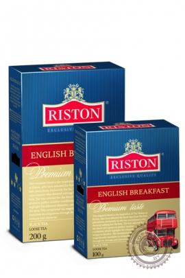"""Чай RISTON """"English Breakfast"""" 200г чёрный"""