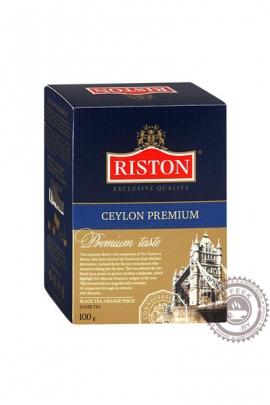 "Чай RISTON ""Ceylon Premium"" 100г чёрный"