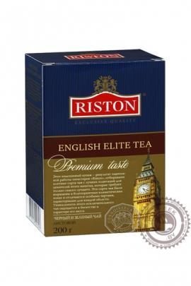 "Чай RISTON ""English Elite"" 100г чёрный + зелёный + бергамот"