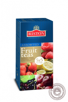 """Чай RISTON """"Assorted Tea"""" 25пак черный (ассорти)"""