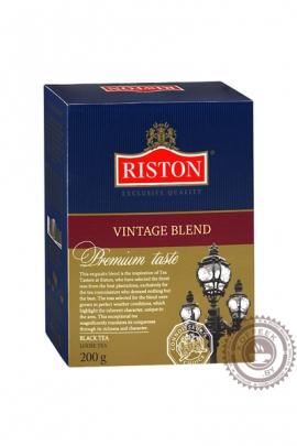 """Чай RISTON """"Vintage Blend"""" 100г чёрный"""