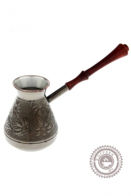 Турка для кофе медная 0,6л «Ромашка»