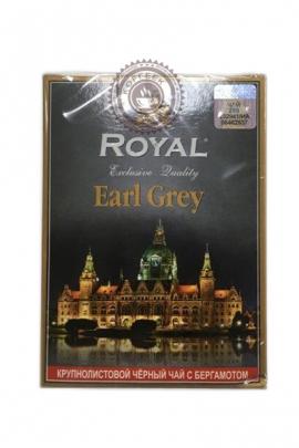 """Чай Royal """"Earl Grey"""" черный крупнолистовой с бергамотом 100г"""