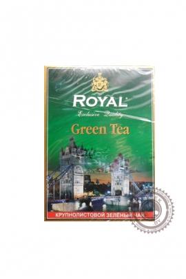 """Чай Royal """"Green Tea"""" зеленый крупнолистовой 100г"""