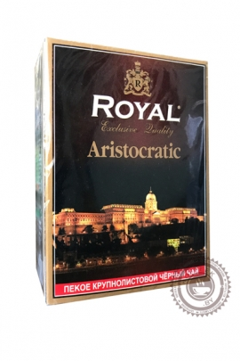 """Чай Royal """"Aristocratic"""" черный PEKOE 100г"""