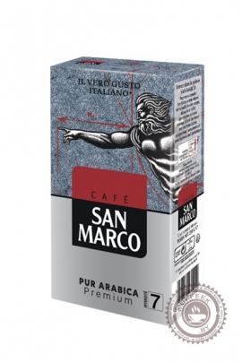 """Кофе SAN MARCO """"PUR ARABICA"""" молотый 250гр"""