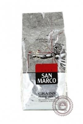 "Кофе SAN MARCO ""PUR ARABICA PREMIUM"" , зерно 500гр"