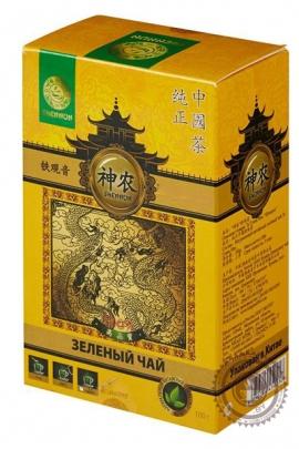 "Чай Shennun ""Жасмин"" зеленый 100 г"