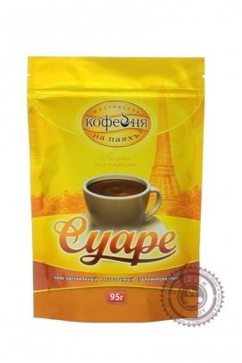 """Кофе """"Московская кофейня на паях"""" Суаре растворимый 95 г"""