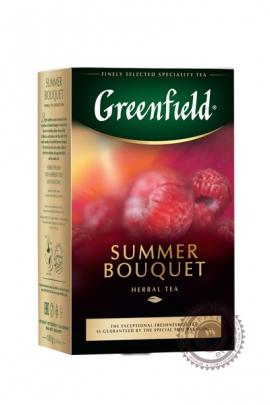 """Чай GREENFIELD """"Summer Bouquet"""" фруктовый листовой чай, 100 г"""