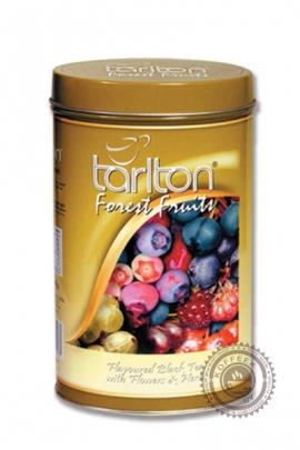"""Чай Tarlton """"Forest Fruit"""" черный с лесными ягодами 100г в ж/б"""