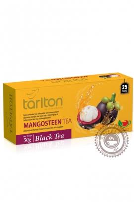 """Чай Tarlton """"Mangosteen"""" черный 25 пак по 2гр"""