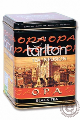 """Чай Tarlton """"OPA"""" черный 250 гр ж/б"""