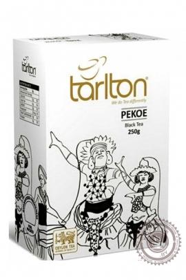 """Чай Tarlton """"Pekoe"""" черный 250 гр"""