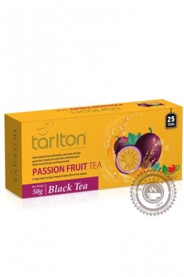 """Чай Tarlton """"Passion fruit"""" черный 25 пак по 2гр"""