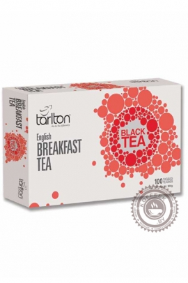 "Чай Tarlton ""Black Tea English Breakfast"" черный 100 пакетов"
