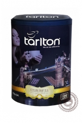 """Чай Tarlton """"Виктория FBOP"""" 250г черный в ж/б"""