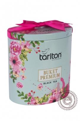 "Чай Tarlton ""Букет Премиум"" черный FBOP, 100 г ж/б"