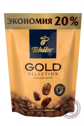"Кофе Tchibo ""Gold Selection"" 75 г растворимый"