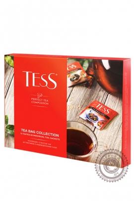 """Набор чая TESS """"12 сортов чая"""" подарочный 60 саше-пакетов"""