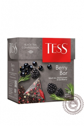 "Чай TESS ""Berry Bar""  20 пир чёрный"