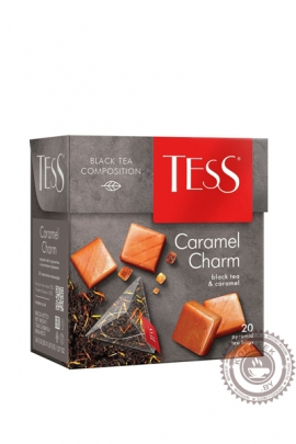 """Чай TESS """"Caramel Charm"""" (карамель) черный 20 пир"""