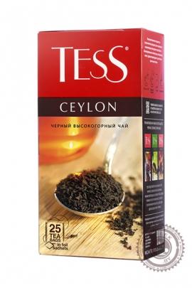 "Чай TESS ""Ceylon"" 25 пакетов чёрный"