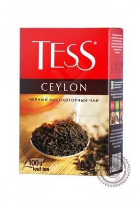 "Чай TESS ""Ceylon"" 100г чёрный"