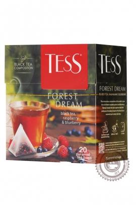 """Чай TESS """"Forest Dream"""" черный 20 пирамидок"""