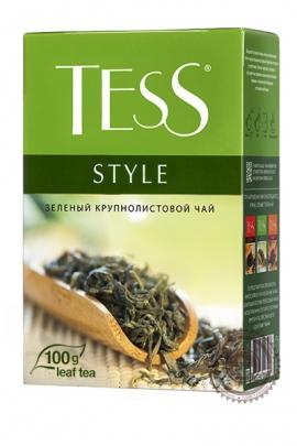 """Чай TESS """"Stylle"""" 100г зелёный крупнолистовой"""