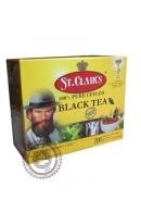 Чай ST.CLAIR'S 100 пак чёрный