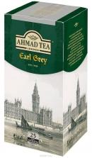 """Чай AHMAD """"Earl Grey"""" 25 пакетов (с бергамотом) черный в фольге"""